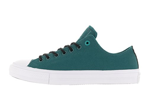 Converse Chuck Taylor All Star Ii Low Donna Sneaker Blu Cool Jade/Wh
