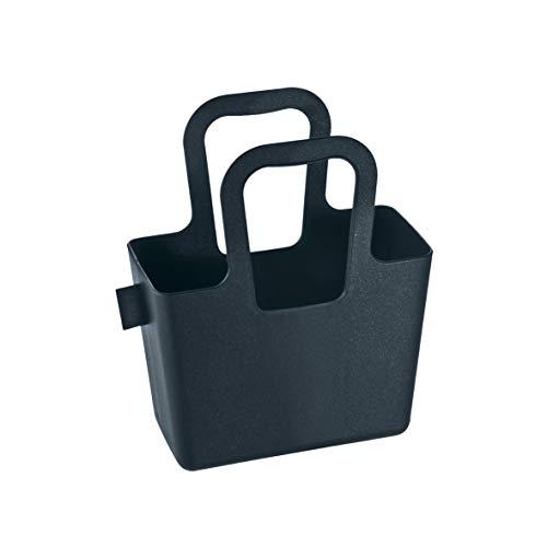 koziol Tasche Taschelini, Kunststoff, schwarz, 7,8 x 16,1 x 18,3 cm