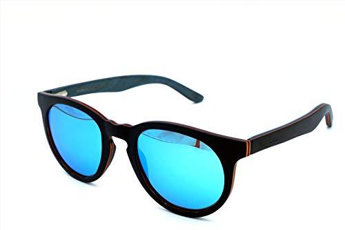 Vagance Black Ahorn Echtholz Sonnenbrille mit toller Holzbox