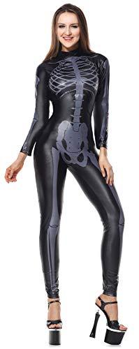 HAOBAO Halloween KostüM Cosplay Schwarz Lackleder Overall Leder Cosplay Nachtclub Latex BüHne KostüM