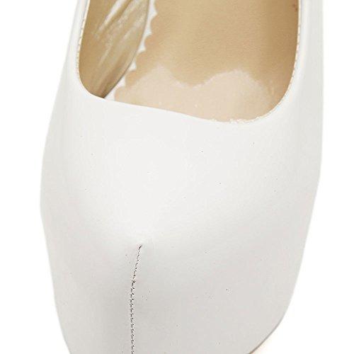 Ochenta - Zapatos Con Plataforma De Tacón De Aguja Ocultos - Mujer Blanca