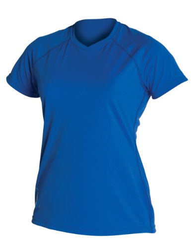 XCEL Damen UV-ventx Short Sleeve Top ozeanblau