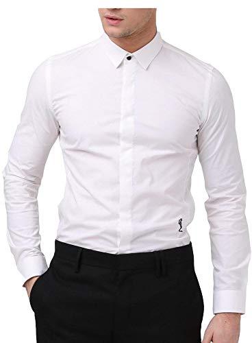 Religion Herren Legion Langärmeliges Hemd Weiß L