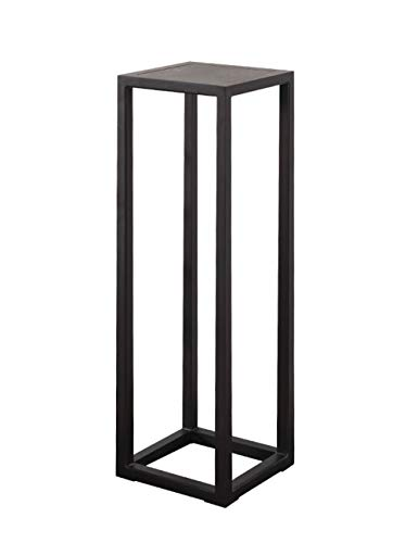 New Chinese Chestnut Massivholz Single Flower Stand, Free Punching, vertikale Stand-Home-Office