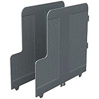 Exacompta Modulodoc Ecoblack - Pack de 2 separadores, color gris oscuro