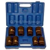 8 tlg. Set Druckluftschrauber Kraftnuss-Set Nüsse für Druckluftschrauber 1