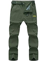 Geval Outdoor coupe-vent Séchage rapide Pantalons Escalade de randonnée pour hommes