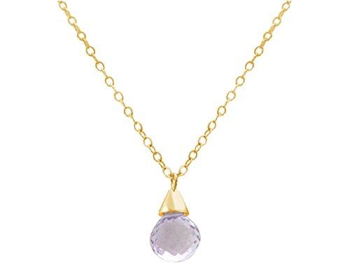 gemshine-collar-colgante-chapado-en-oro-de-18k-amatista-gota-lila-lavanda-45-cm