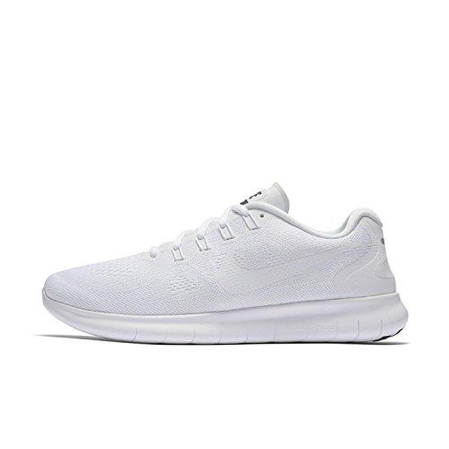 Nike Herren Free Rn 2017 Laufschuhe Weiß (White/White-Black-Pure Platinum)