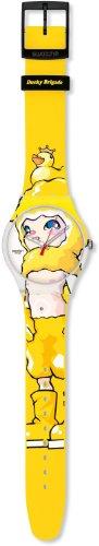 Swatch Mädchen-Uhren Ducky Brigade SUOZ113 - 2