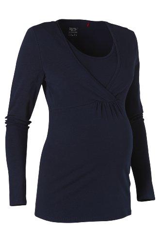 Esprit Maternity - Haut Maternité - Femme Bleu (Dark Navy 402)