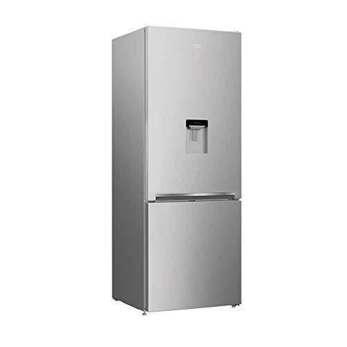 Beko REC52S Autonome 450L A+ Argent réfrigérateur-congélateur - Réfrigérateurs-congélateurs (450 L, Pas de givre (réfrigérateur), SN-T, 6 kg/24h, A+, Argent)
