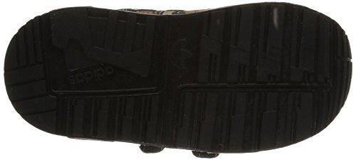 Adidas Zx 850 Cf I Scarpe Sportive, Unisex Bambino Cblack/Ftwwht/Red