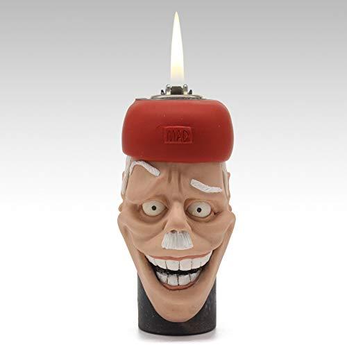 Lachend Alter mann Leichtere Kreativ Persönlichkeit Rad Feuerstein und stahl Porenbeton] Feuer maschine Freund senden Halloween Geschenk-A