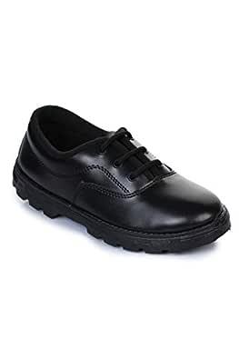 Liberty Prefect Black Kids School Shoes