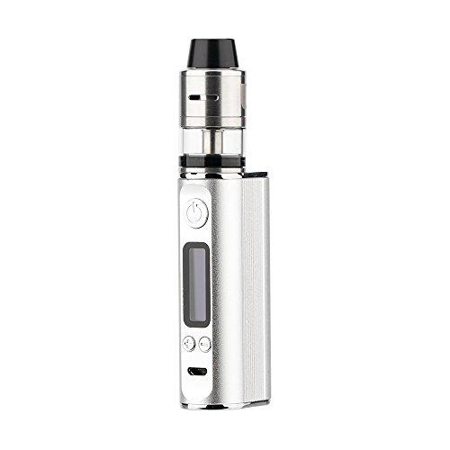 JOMO TECH E-Zigarette Ultra Lite 80 Box Mod Akkuträger mit Ladestandsanzeige inkl. Sub Ohm OCC Coil Verdampfer Einsteiger-Set Nikotinfreie Zigaretten Ohne E-Liquid