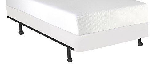 Fashion Bed Group QA0131 StyleWrap White Fabric Box Spring Cover, King by leggett & platt - home textiles (King Box Spring Cover)