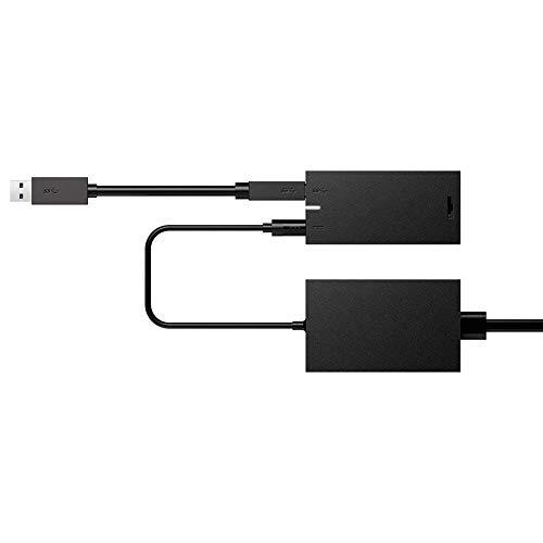 Xinvision Kinect Adapter per Xbox One S/X e Windows 8/8.1/10 PC Interactive Applicazione Sviluppo - con USB Cavo/Adattatore di Alimentazione