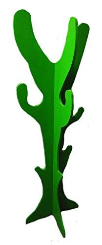 Valenciana del Hogar Porte-manteau Cactus Portemanteau en forme de cactus Vert