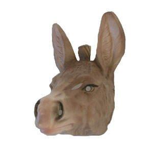 Maske für Erwachsene Esel, (Esel Masken)