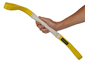 Bâton à mordre pour l'entraînement - Fabriqué en TUYAU D'INCENDIE de qualité - Parfait pour l'entraînement - Taille S - 4 cm de large par 20 cm de long - 2 poignées à chaque extrémité - LES COULEURS PEUVENT VARIER !!! Disponible dans plusieurs tailles et