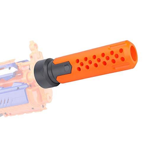 Silenziatore Adattatore Front Tube Decorazione Prolunga Canna Tude per Modulo Nerf Stryfe Modifica Giocattolo