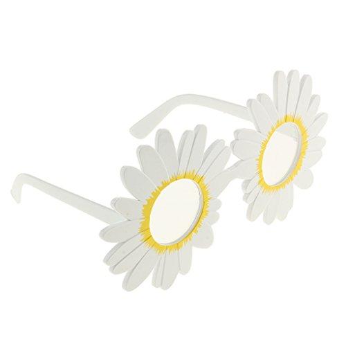 Gazechimp Weihnachten Sonnenbrille Brillen Feier Party Abendkleid Party Zubehör - Gänseblümchen