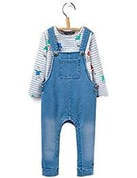 Amazon.es  Peto Vaquero - Pantalones de peto   Niños de hasta 24 ... 946198f0890