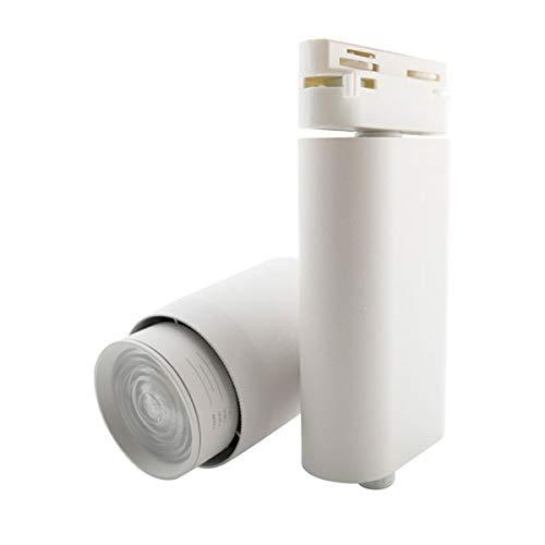 Foco LED para Carril Monofásico MultiOption Blanco 35W Con Temperatura Regulable 3500LM...