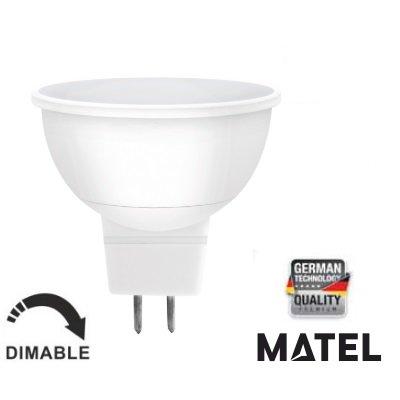 MATEL M292024-led Ampoule gu10 8w-780 lumenes réglable