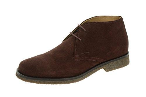 Geox Claudio, Stivali Desert Boots Uomo Rosso (rosso)