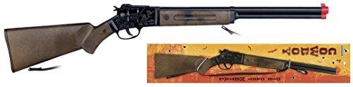 Vaquero- Cowboy Rifle 12 Shots - Black, Multicolor (Gonher1197/6)