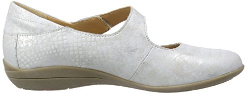 Mephisto Odalys Queen 14768 Silver, Mary Jane femme argent (SILVER)