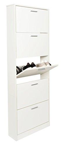 ts-ideen-11301-scarpiera-salvaspazio-169-x-59-cm-in-bianco-stile-moderno-con-5-scomparti-ad-anta-bas