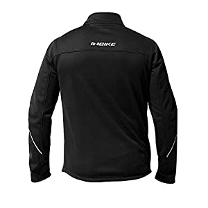 INBIKE Sports Softshell Jacket for Men Windproof Winter Track Jacket for Cycling (S)