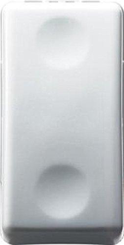 Gewiss - Gw20510 - Pulsante 1P 10A Na, 250V, Bianco