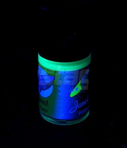 Vernis phosphorescent 15 ml Vert - brille la nuit - fluorescent fluo UV ultra violet