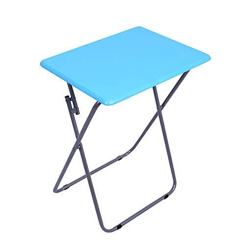SQYY Outdoor Klapptisch Outdoor Camping Klapptisch Faul Tisch Einfach Tragbar Home Esstisch Outdoor Freizeit Erweiterung Größe: 48 * 38 * 66Cm Produktfarbe: Multi-Color,2 -