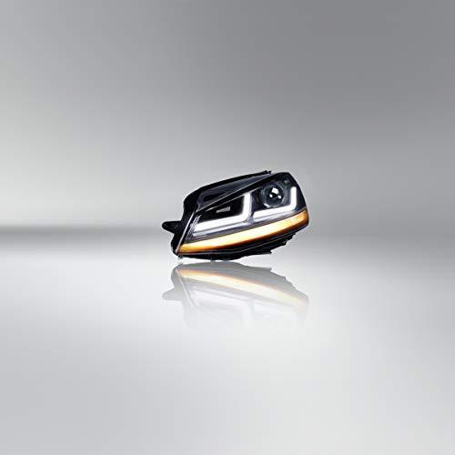Osram Ledriving Golf 7 LED Scheinwerfer, Schwarz Edition als Halogenersatz zur Umrüstung auf LED, LEDHL103-BK, für Linkslenkerfahrzeuge (1 Komplett-Set)