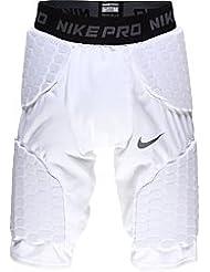 NIKE Pro Combat Boys Compression Short Pantalon fonctionnel Kids Blanc L (152–158)