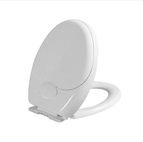 IAIZI WC-Sitz Mutter-Kind-WC-Sitz-Abdeckung Mit Verdicken Antibakteriell Ultra-Resistant PP Brett Toilettendeckel (Color : A) -