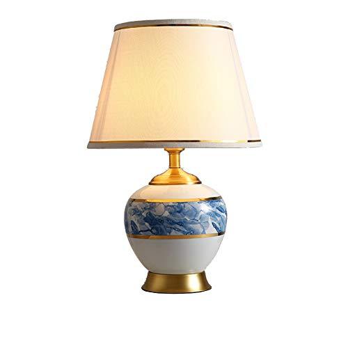 E27 Lámpara De Mesa Ceramica Lámparas,con Bombilla Para Salón ...
