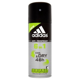 Adidas 6In1 Cool & Dry 48H Deodorante Anti Traspirante - 150 ml
