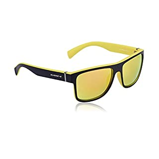Avenue Sporty Mirrored Wayfarer Style Sunglasses with Anti-Fog/Anti-Scratch Coating -  Multicoloured - One size