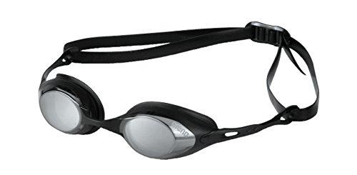 arena Schwimmbrille Cobra Mirror, black-smoke silver/black, One Size, 92354