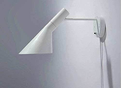 HNZZN arne jacobsen lampe à poser moderne lampe créative louis poulsen lampe aj blanche lampe jielde lampe, Blanc, 40w, Nature White (3500-5500K)