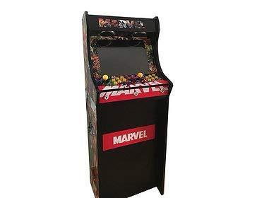Máquina Arcade Lowboy Retro, máquina recreativa -Tamaño Real- Diseño Marvel