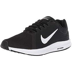 Nike Downshifter 8, Zapatillas de Entrenamiento para Hombre, Negro (Black/White-Anthracite 001), 42.5 EU