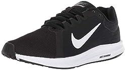 Nike Herren Downshifter 8 Laufschuhe, Schwarz (Black/white/anthracite 001) , 44 EU