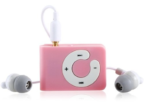 Captcha MP3 Player with TF Card Support (Pink)